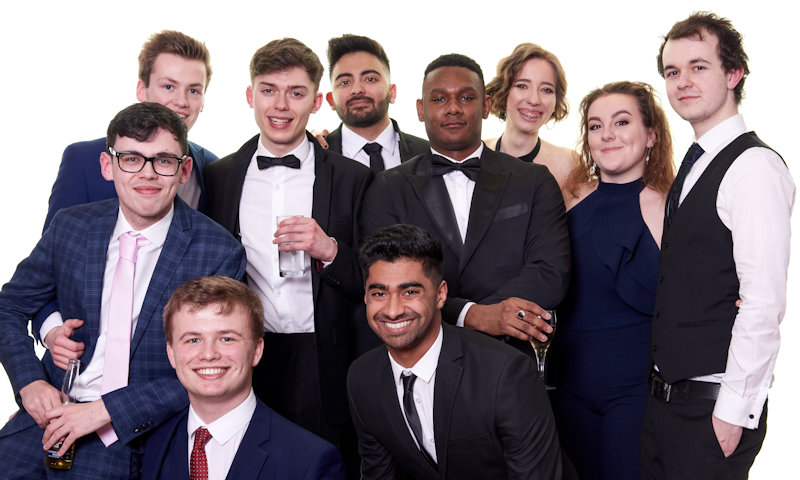 ChemSoc members at the annual spring ball 2019