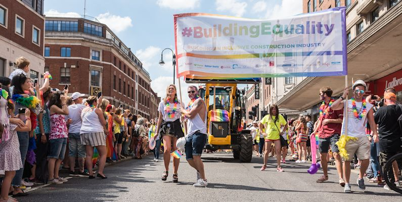 Building Equality at Leeds Pride