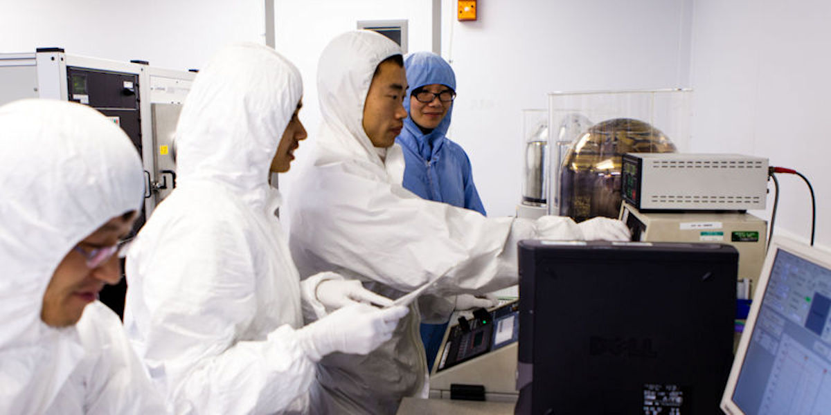 Nanotechnology cleanroom