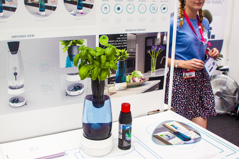 Hydrogrow Product Design project at New Designers