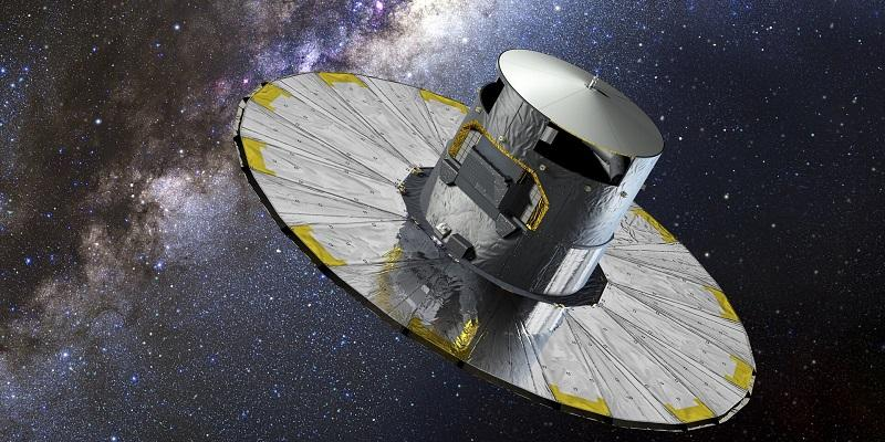 An artist's impression of the Gaia space telescope. Image: European Space Agency/D. Ducros, 2013