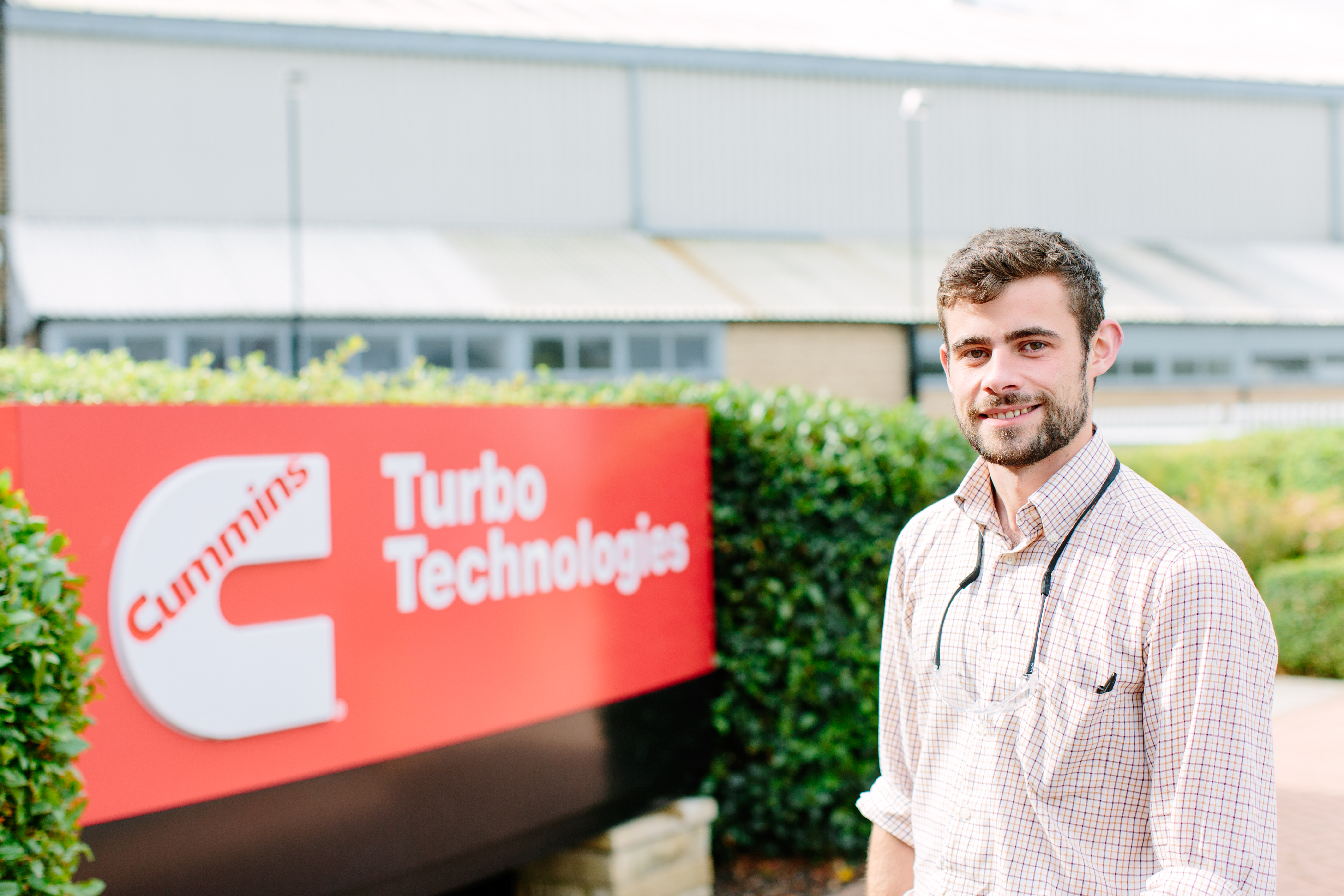Mike Scott on his industrial placement at Turbo Technologies