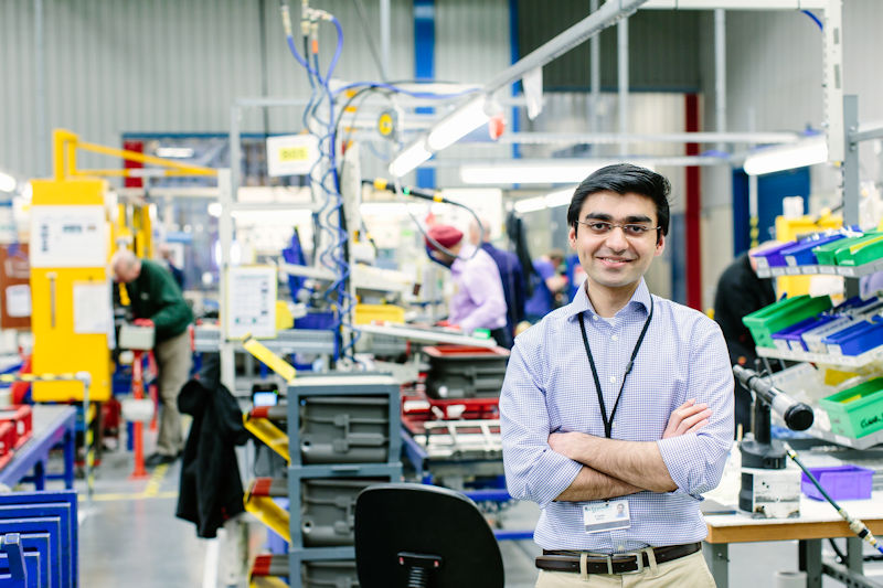 Ali Iqbal on his industrial placement year at Schneider Electric