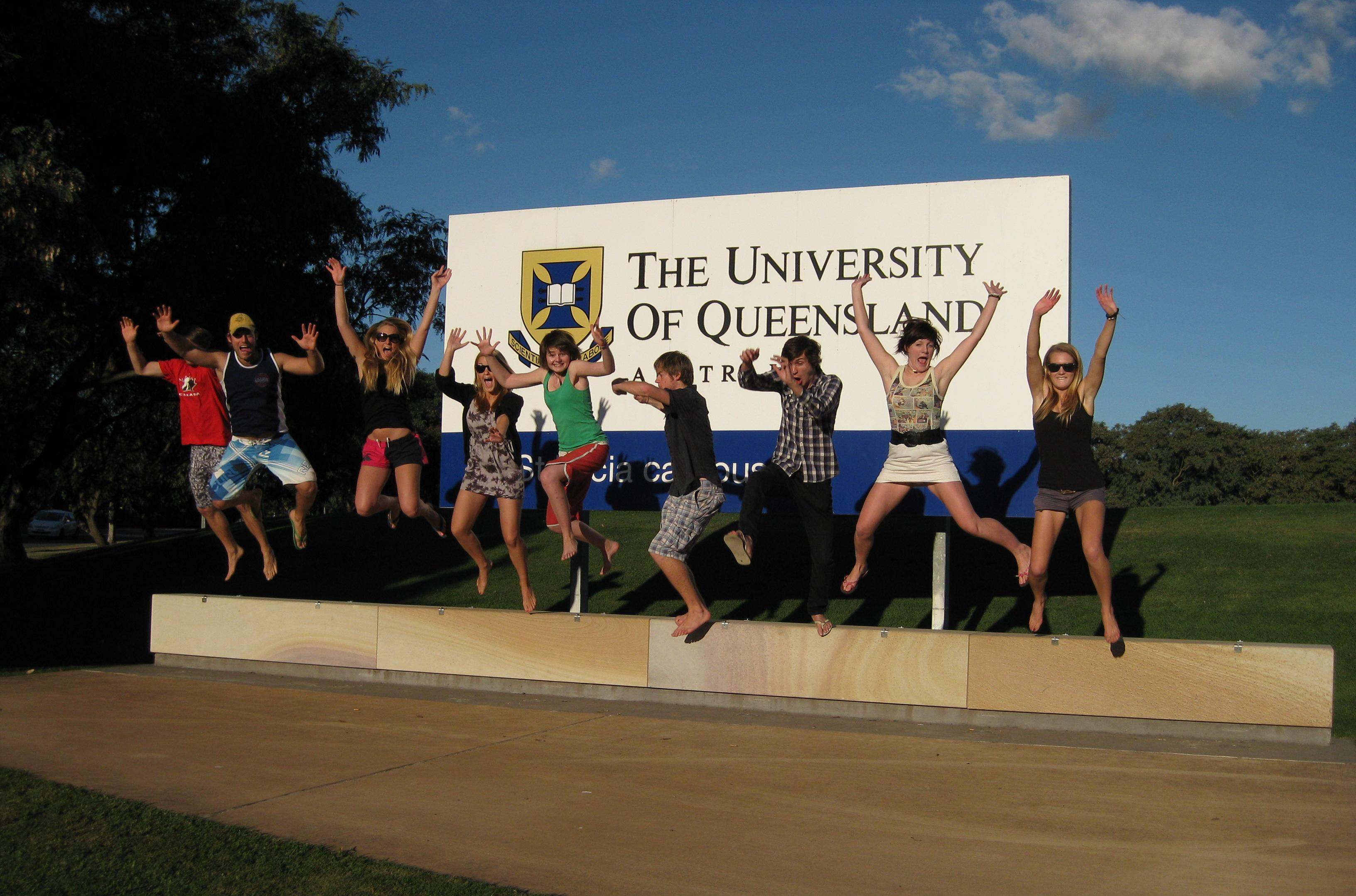Study abroad, University of Queensland