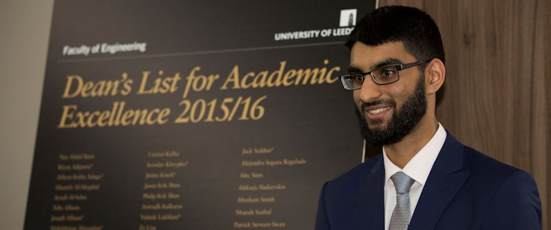 Engineering students awarded prestigious Dean's List honour