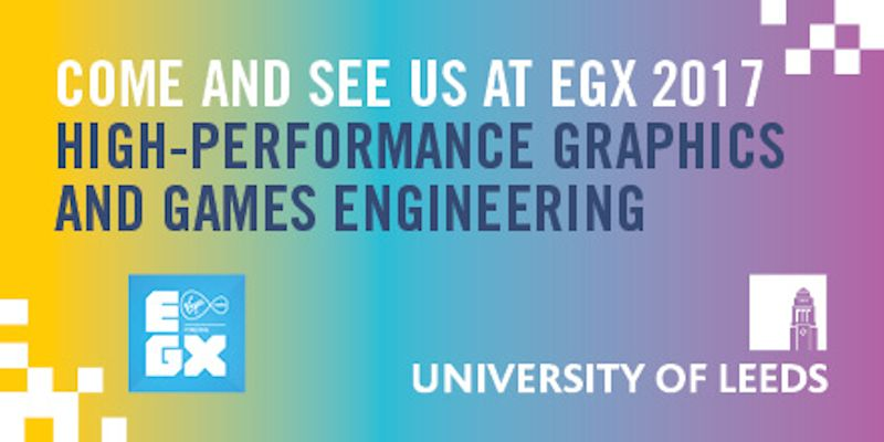 Join us at EGX, the UK's largest gaming event