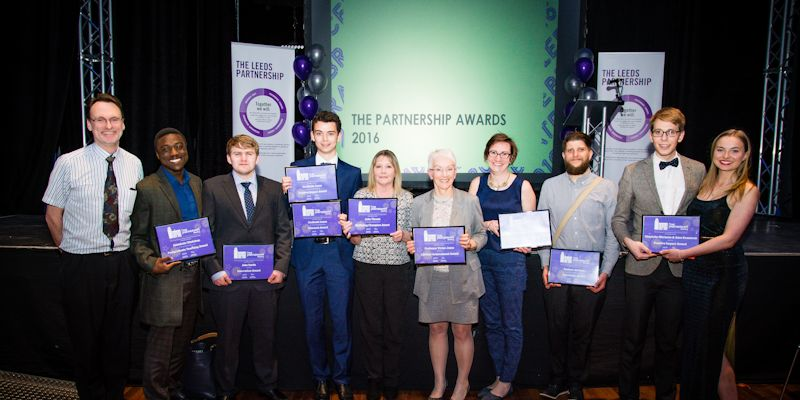 Engineering staff and students celebrated at partnership awards
