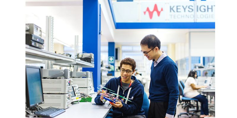 Leeds joins new university engagement program with Keysight Technologies