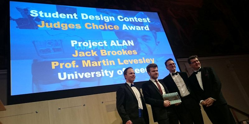 Leeds engineering team win second international award