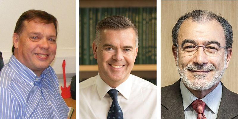 Engineering trio elected as Fellows of the Royal Academy of Engineering