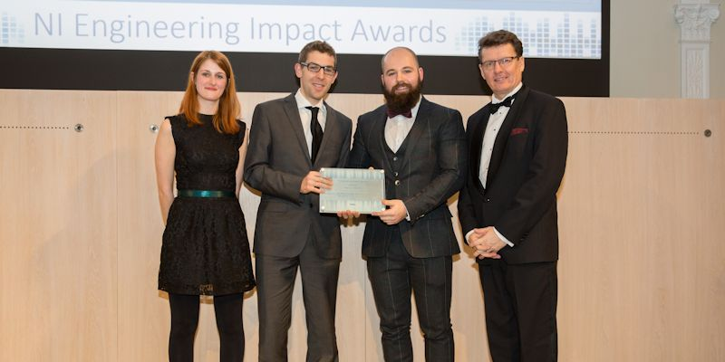 Leeds PhD graduates win Engineering Impact Award