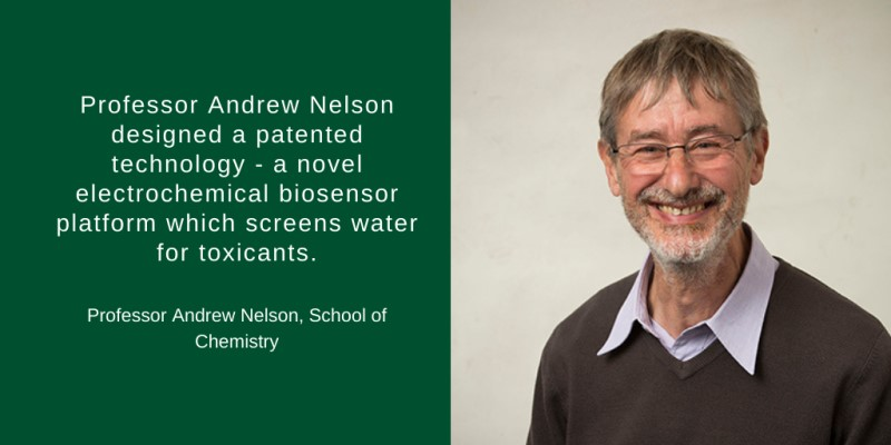 Professor Andrew Nelson scores a hat-trick in winning European Framework awards