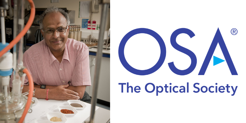 Engineering Professor named as an Optical Society Fellow Member