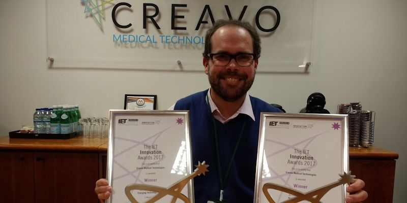 Leeds' medical spin-out triumphs at IET Innovation Awards