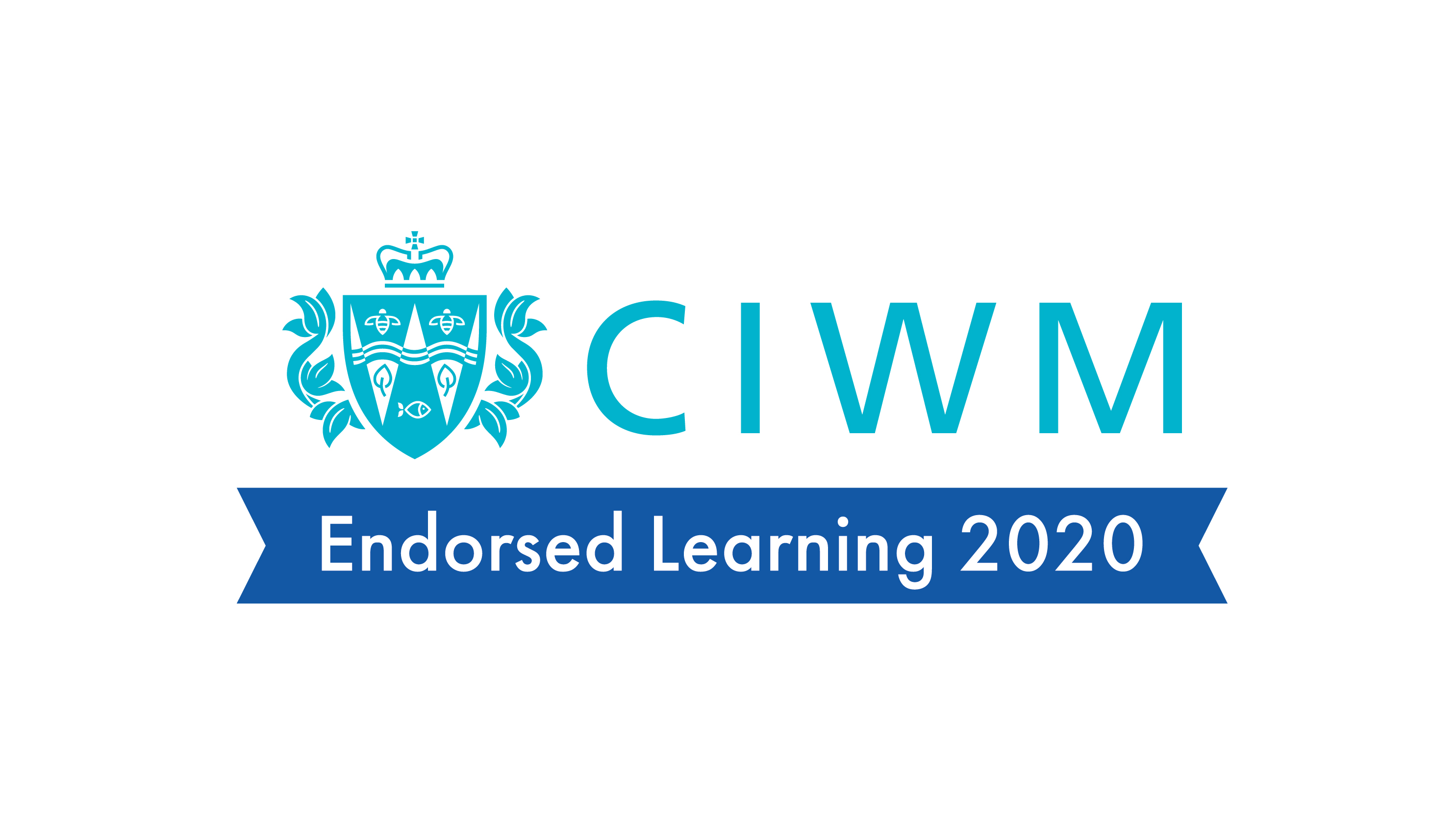 CIWM logo showing endorsement of course for 2020