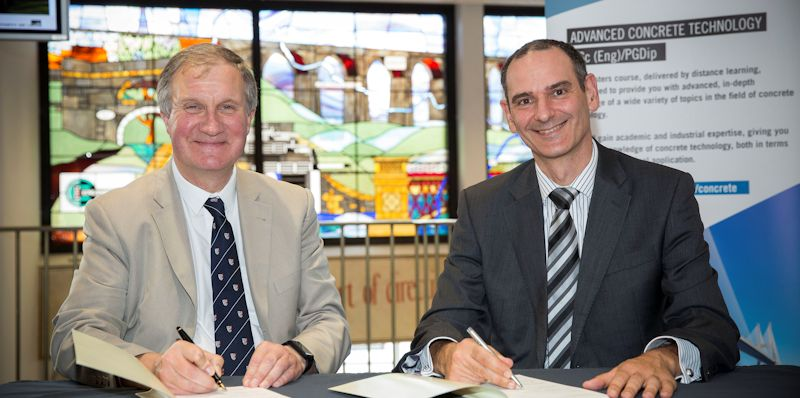 University of Leeds signs new concrete technology partnership