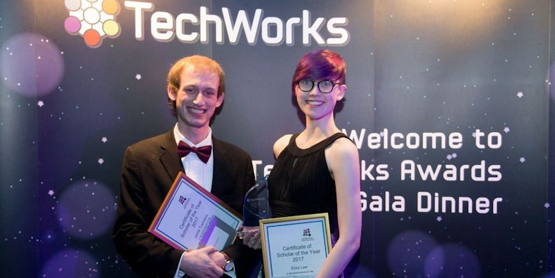 Leeds student is joint winner of the UKESF Scholar of the Year award