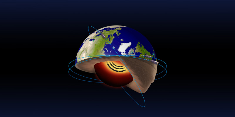 Jet stream discovered within the Earth's molten iron core