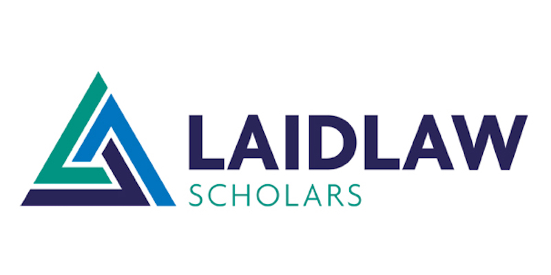 New Laidlaw Scholar for the School