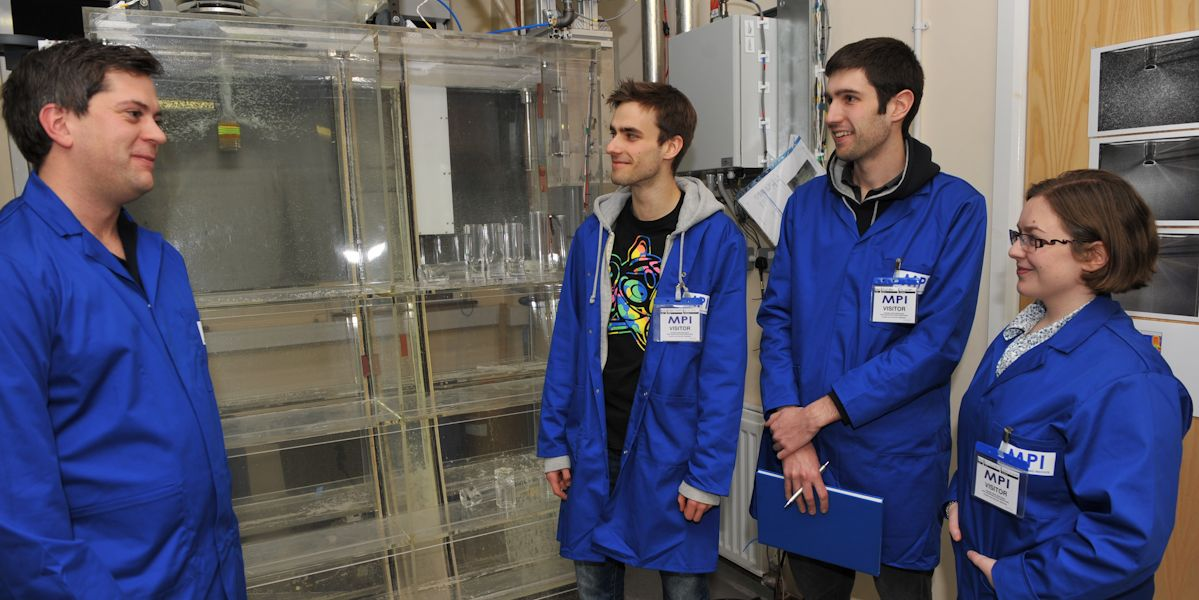 PhD students given an insight into industry at the Materials Processing Institute