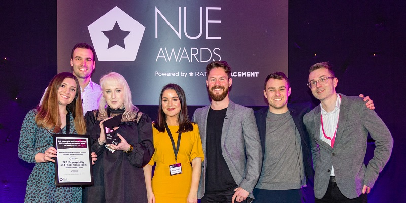 EPS Employability Team wins NUE's Best University Placement Service