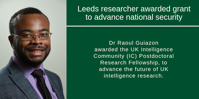 Leeds engineering researcher awarded grant to advance national security