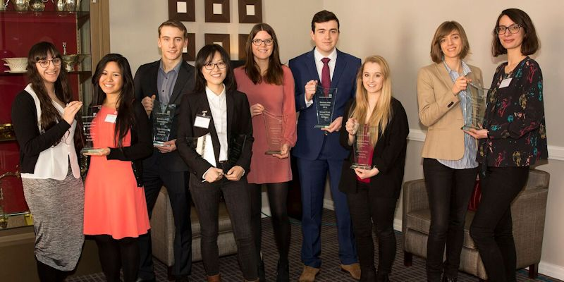 Product design graduates win university business award