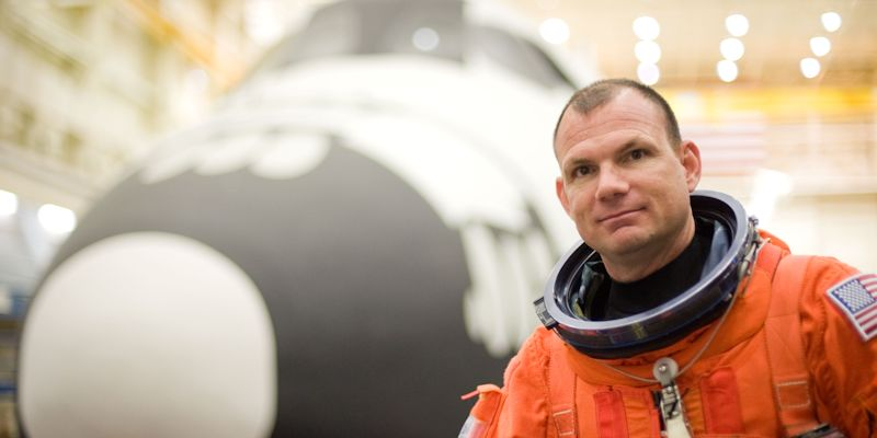 NASA astronaut landing at University of Leeds