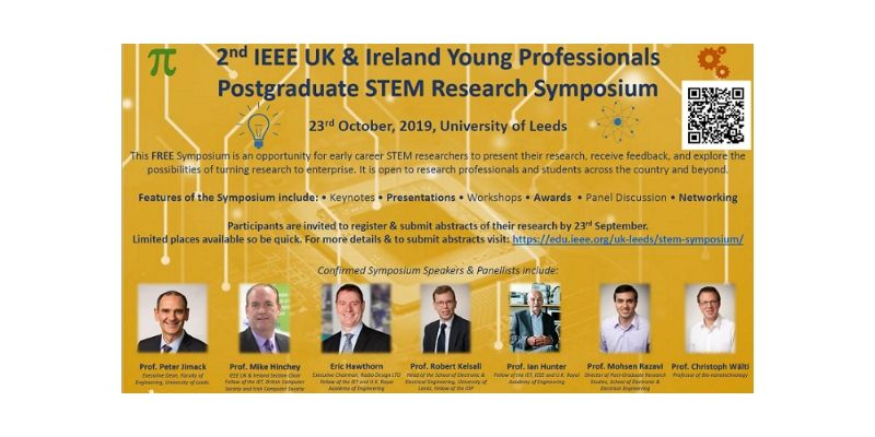 Poster for 2nd Postgraduate STEM Research Symposium