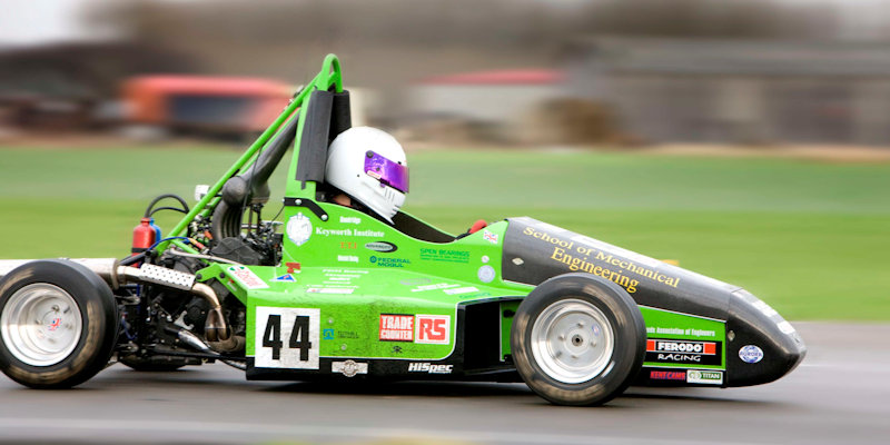 Leeds Formula Race car