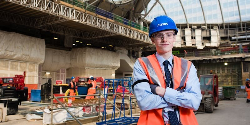 student on placement with Atkins