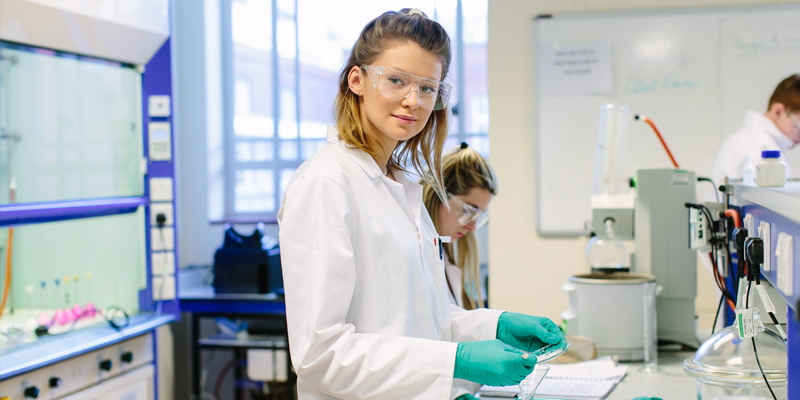 Student in Priestley lab
