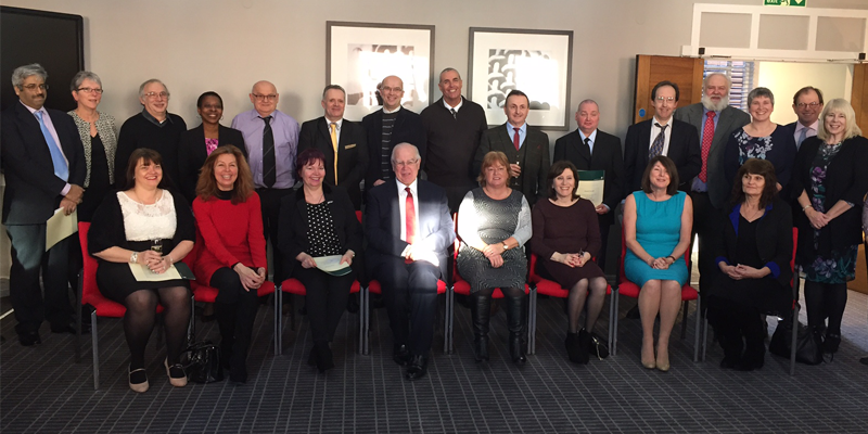 Chemistry colleagues celebrated for long service