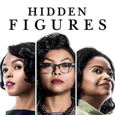Poster for the film Hidden Figures