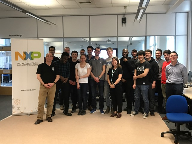 NXP Cup Challenge 2017 hosted at Leeds