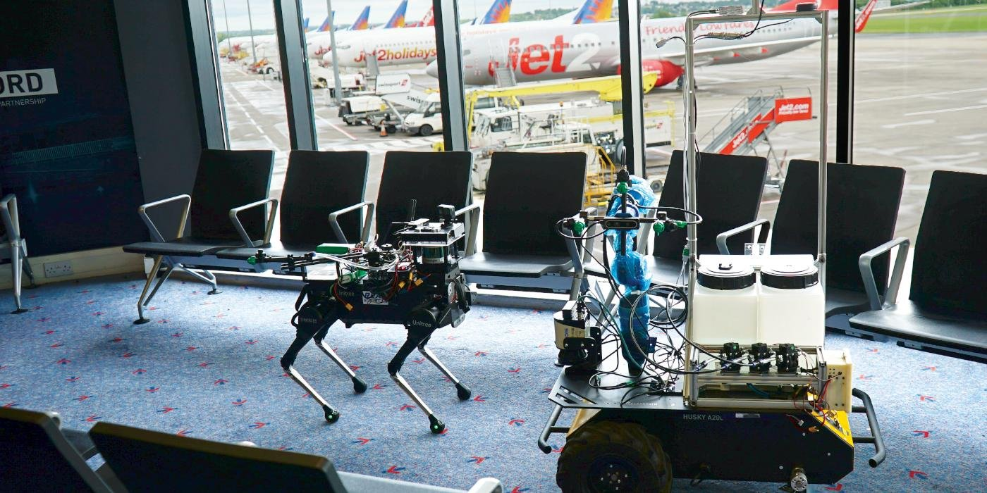 Robots at Leeds Bradford Airport