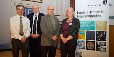 Directors of the Leeds Institute for Fluid Dynamics at launch