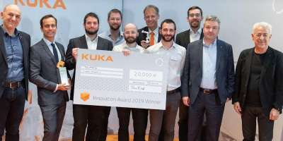 Researchers from the universities of Leeds, Vanderbilt and Turin wins the KUKA Innovation Award 2019.