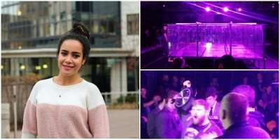Abeer link to leeds ambassador attended the shock soc's robot fighting league