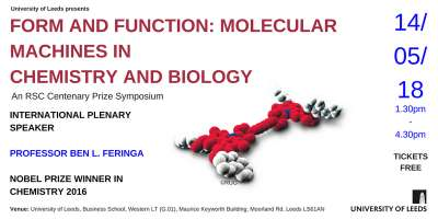 Information for the symposium Form and Function: Molecular Machines in Chemistry and Biology.